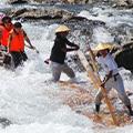 「じゃばらの里・筏くだりの北山村」で大迫力の筏下りで大自然を満喫・癒し旅