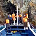 語り部と巡る!南紀熊野ジオパークを満喫【漁船で巡るクルーズ船&江須崎島探検ウォーク】