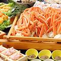 赤字覚悟の謝恩特別価格◆かにかにカーニバル◆ゆで蟹・焼き蟹食べ放題と海鮮浜焼き食べ放題