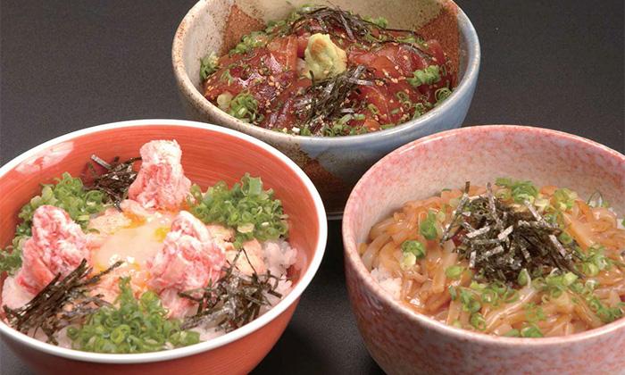 境港 海鮮丼3種セット