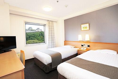 Smile Hotel Wakayama Twin room(Double occupancy)