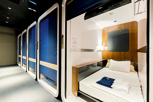 FIRST CABIN STATION WAKAYAMA Single room(Single occupancy)