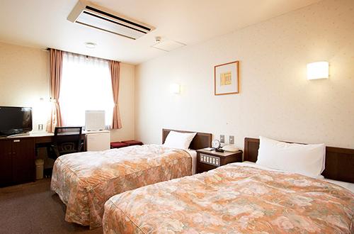 Wakayama Dai-ichi Fuji Hotel Twin room(Double occupancy)