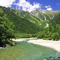 絶景と雄大な大自然に囲まれた上高地と世界遺産・白川郷&飛騨高山散策1泊2日