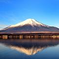 """雪化粧をした富士山をバックに打ち上がる""""河口湖冬花火""""&迫力満点の西湖""""樹氷まつり""""1泊2日"""