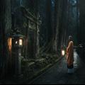 """お坊さんの案内で巡る世界遺産・高野山で今までとは違う仏教の世界に浸る!神秘的な夜の""""奥の院ナイトツアー""""と阿字観(瞑想)体験の旅"""
